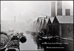 Factory Coal Wharf. c1890s.