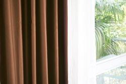 Luxury Fine  Brown Silk Satin Blackout Curtains Panel Pinch Pleat 25W X 96L