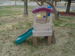 Step 2 Naturally Playful Lookout Treehouse - $90
