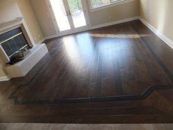 Hardwood Flooring with Borders