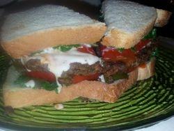 Lentil Veggie Burger 4