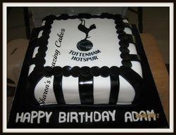 CAKE 45A2 -T-Hotspurs Football Cake