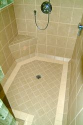 Porcelain Shower Floor