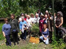 gardeners at Poterne Gardens Grenoble