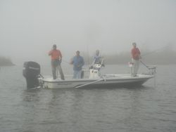 Capt. Jody In Foggy Conditions