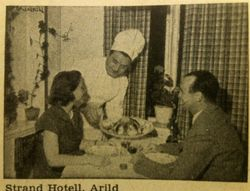 Strand Hotell 1960