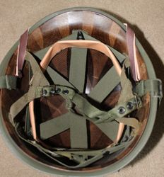 Late / Post War MP Jump Helmet: