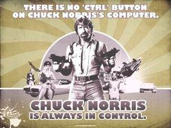 Chuck Norris Control Freak