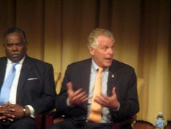 Close-Up of Terry McAuliffe at Beyond Charlottesville at National Archives and Records Administration