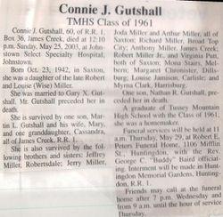 Gutshall, Connie J. Miller 2003