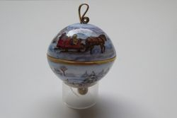 Sleigh Ride Sphere SOLD