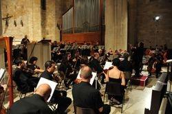 VC conducting the Bacau Philharmonic