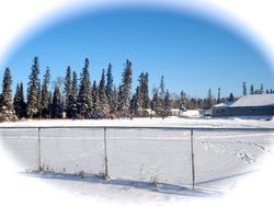 View of Charlebois Community School