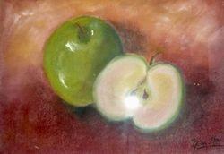 grüne Äpfel