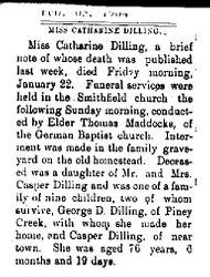 Dilling, Catharine 1904