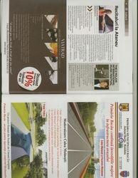 Local magazine advertisement for DMIMF in Romania