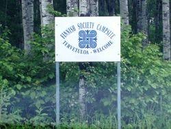 Fork Lake signpost