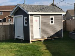 10' x 14' Standard Shed