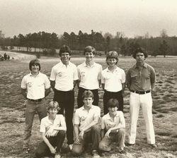 Ninety Six High School winning Golf Team