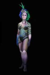 Body Painting Painting Dulce Monteiro