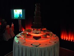 Chocolate Fountain Hire Doncaster Racecourse