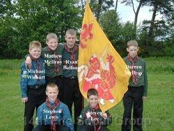 Area Flag Winning Team 2003