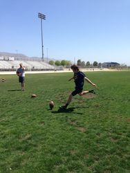 Cole Kicking