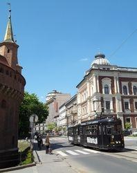 Barbican and MAN GT6 Tram