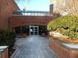 Parish Center Entrance