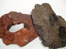 Lava Rock (Red & Black)