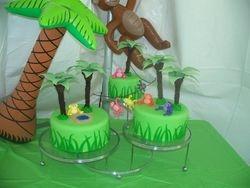 Monkey in Jungle Cake