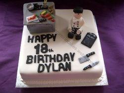 Chef birthday  Cake