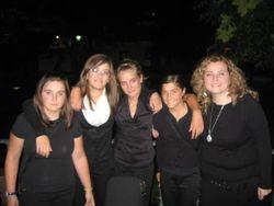 Agate, Irene, Ane, Vero y Lurdes