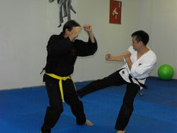 Mark and  Shihan Alan.