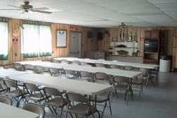 club meeting area