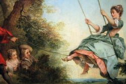Lancret, The Swing, 1730-35, Cincinatti
