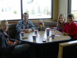 Lunch at Dairy Queen!