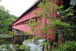 Covered bridge in Wakefield