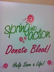Save a life! Donate blood!