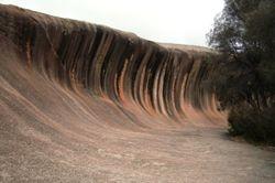 Wave Rock - 1 May 2010
