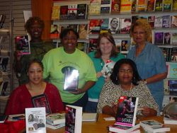 Author Meet & Greet at Borders in Metro Center