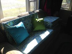 Wicker furniture cushions #1-2