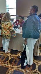 Pastor Chris Signing Books