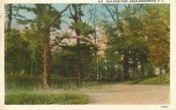 Star Fort postcard