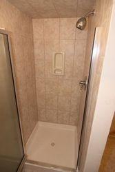 Hall Basement Bathroom Shower 1 of 1