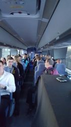 Busing to banquet