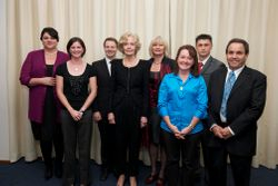 Churchill fellows for the A.C.T in 2011
