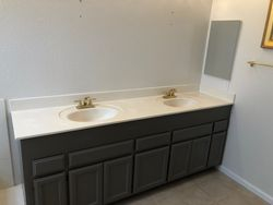 Raised counter top