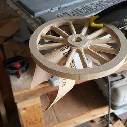 wheel sanding