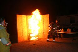 GREASE FIRE DEMO